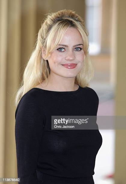 Welsh singer Duffy attends a Performing Arts reception at Buckingham Palace on May 9, 2011 in London, England.
