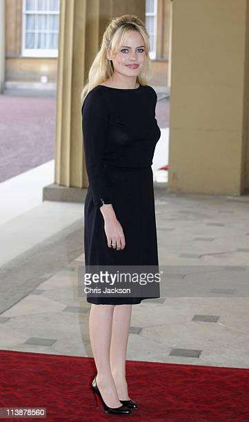 Welsh singer Duffy attends a Performing Arts reception at Buckingham Palace on May 9 2011 in London England