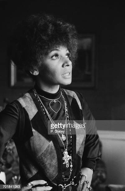 Welsh singer Shirley Bassey in London 15th November 1971