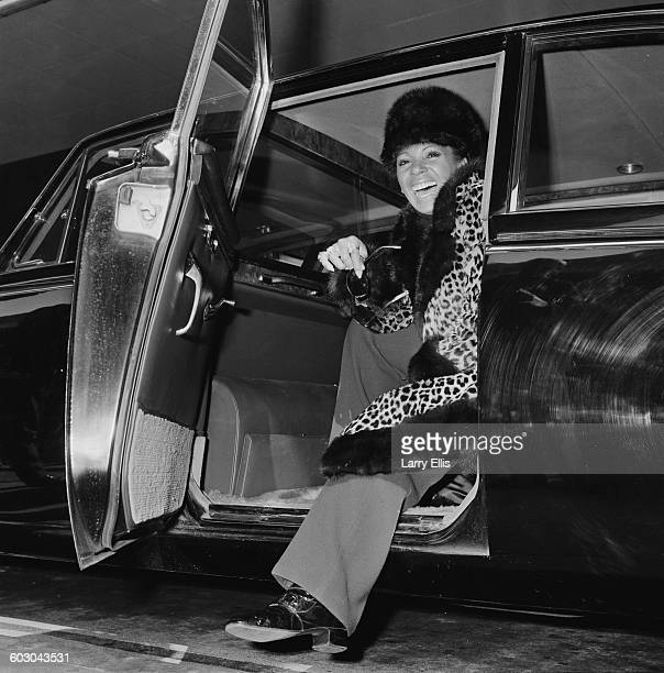 Welsh singer Shirley Bassey in London after two years abroad UK 5th April 1970