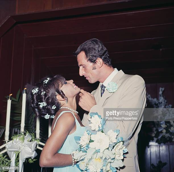 Welsh singer Shirley Bassey marries Italian hotelier Sergio Novak in Las Vegas Nevada on 12th August 1968 Sergio Novak would go on to become Shirley...