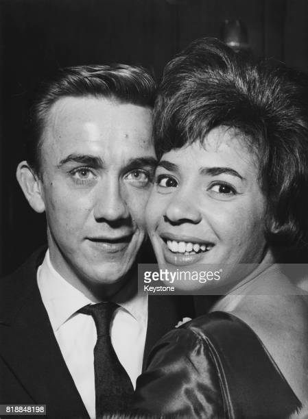 Welsh singer Shirley Bassey with her fiance film director Kenneth Hume 26th March 1961
