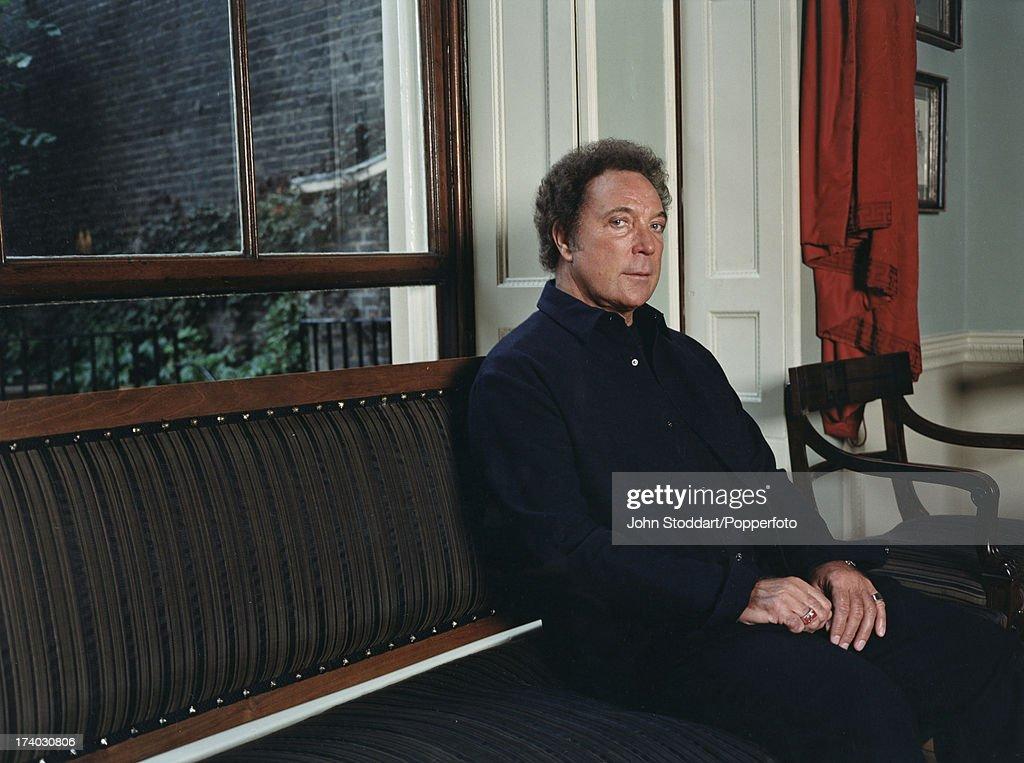 Welsh singer Tom Jones, circa 1990.