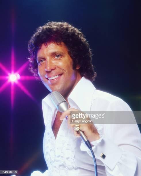 Welsh singer Tom Jones poses for a portrait circa 1978 in Los Angeles, California.