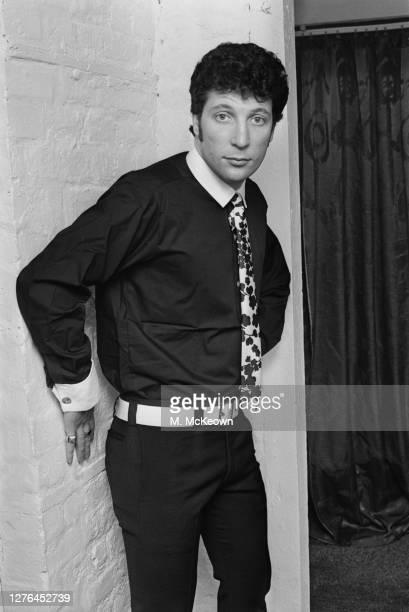 Welsh singer Tom Jones whilst shopping on Carnaby Street in London, UK, 4th April 1966.