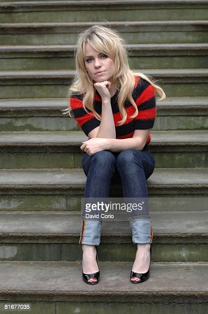 Welsh singer/songwriter Duffy poses for a portrait on May 28 2008 at Albert Circus Shoreditch London