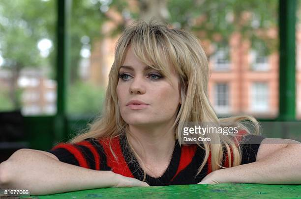 Welsh singer/songwriter Duffy poses for a portrait on May 28, 2008 at Albert Circus, Shoreditch, London.