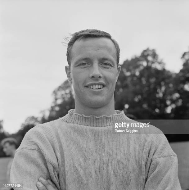 Welsh soccer player and coach Vic Rouse of Oxford United FC UK 8th August 1963