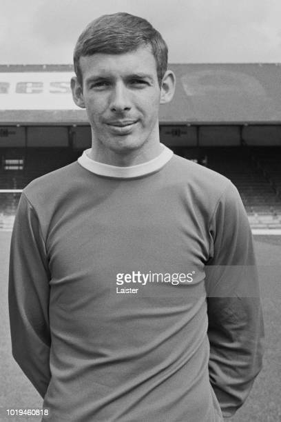 Welsh soccer player Barrie Hole of Cardiff City FC UK 25th July 1965