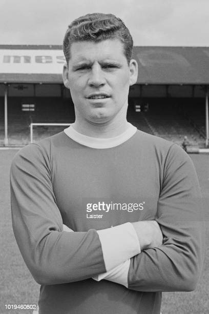 Welsh soccer player Colin Baker of Cardiff City FC UK 25th July 1965