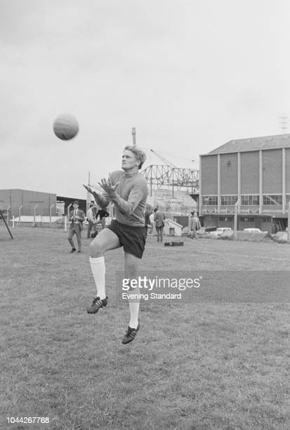 Welsh soccer player Gary Sprake of Leeds United FC UK 2nd August 1968