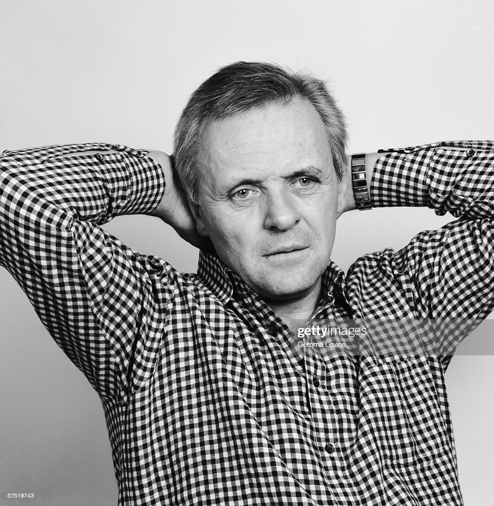 Welsh stage and screen actor Anthony Hopkins, 1988.