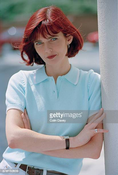 Welsh television and radio presenter Annabel Giles UK 10th July 1996