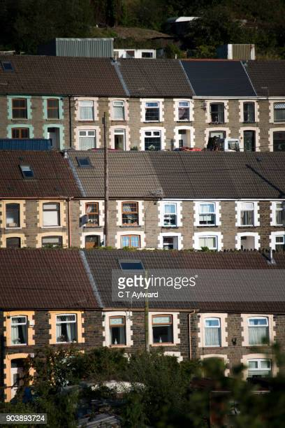 Welsh Terraced Houses of the Rhondda Valley