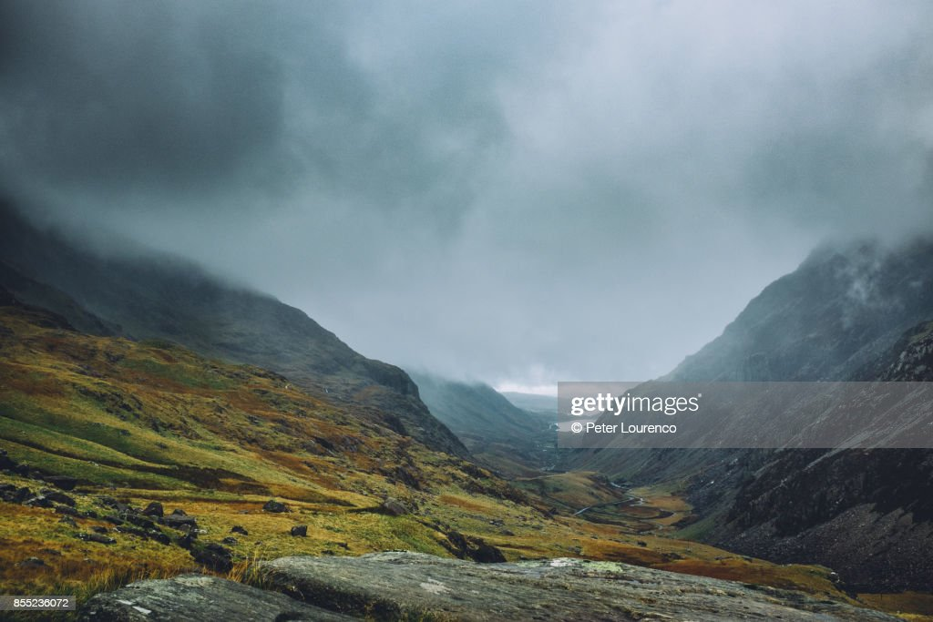 Welsh valley : Stock Photo