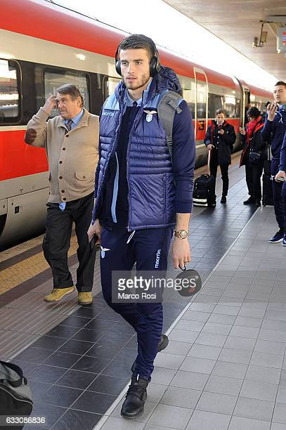 Welsy Hoedt of SS Lazio depart for Milan on January 30 2017 in Rome Italy