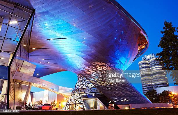 BMW Welt (world) by road