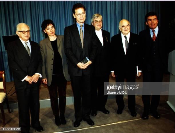 Welt Literatur Preis Willy Haas Gedaechtnispreis Bernhard Schlink und die Jury