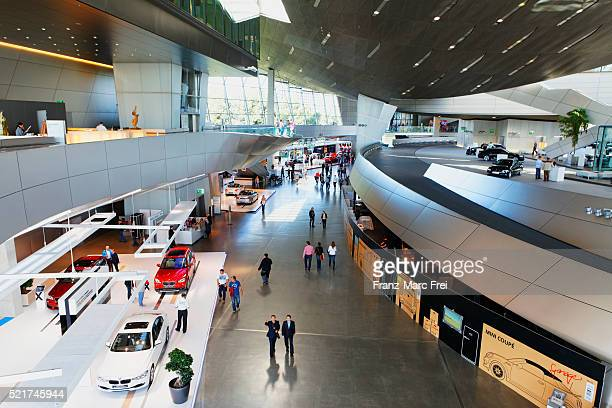 bmw welt, munich - bmw stock pictures, royalty-free photos & images