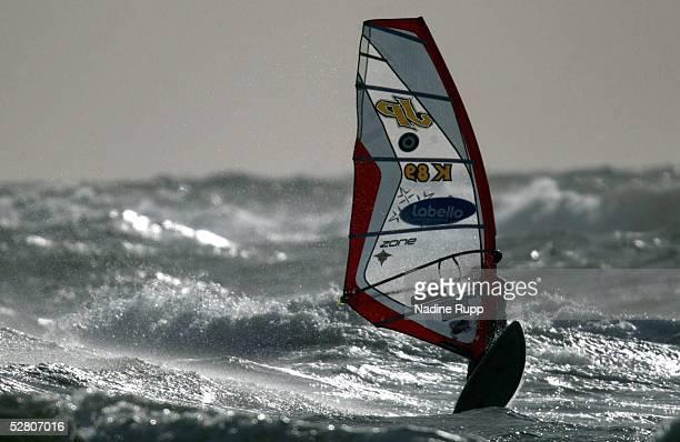 Weltcup 2003 Sylt Waveriding Gegenlicht