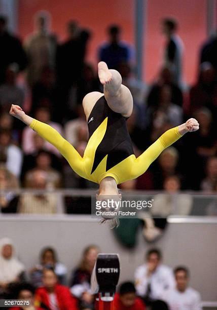 Weltcup Turnier der Meister 2005 Cottbus 200305 Anna PAVLOVA/RUS auf dem Schwebebalken
