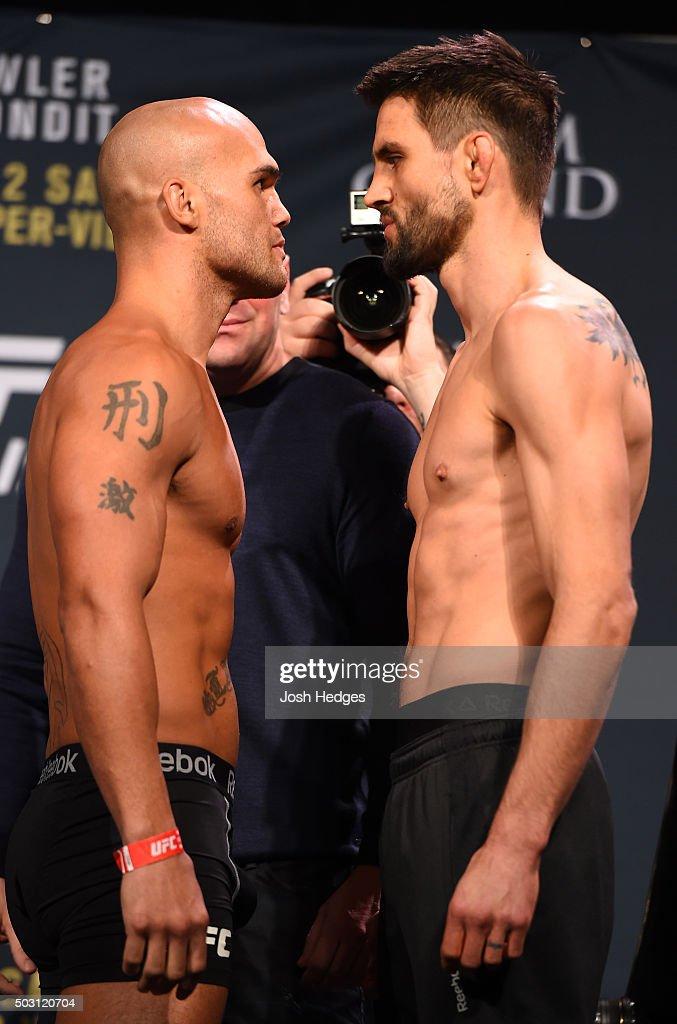 UFC 195 Weigh-in