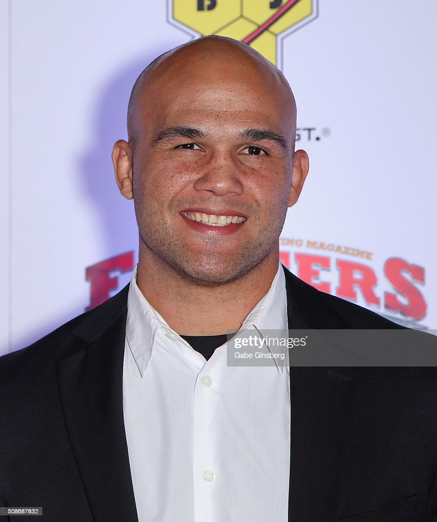 UFC welterweight champion Robbie Lawler attends the eighth annual Fighters Only World Mixed Martial Arts Awards at The Palazzo Las Vegas on February 5, 2016 in Las Vegas, Nevada.
