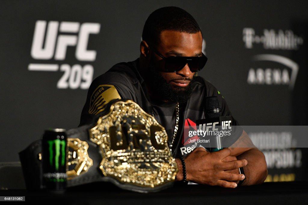 UFC 209: Woodley v Thompson 2 : News Photo
