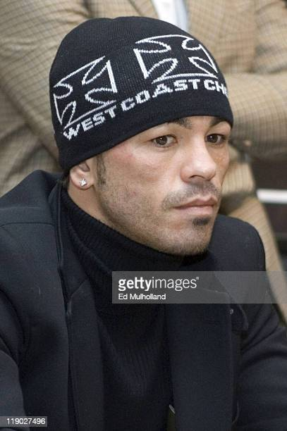 Welterweight contender Arturo Gatti at the final press conference for his upcoming fight against Thomas Damgaard of Denmark at Mickey Mantle's Sports...