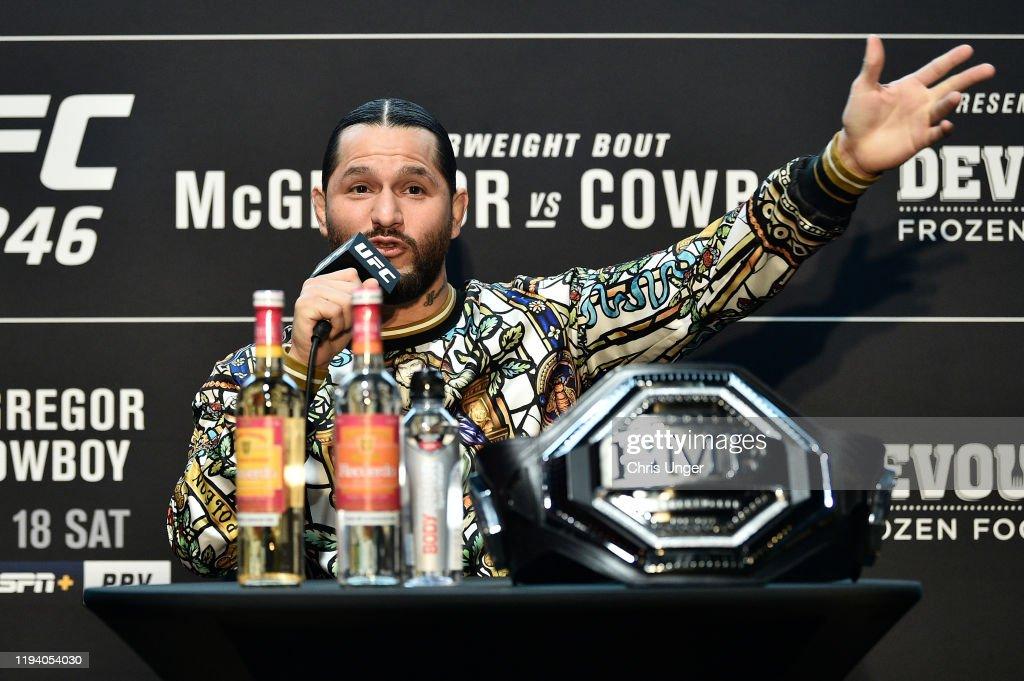 UFC 246: Ultimate Media Day : News Photo