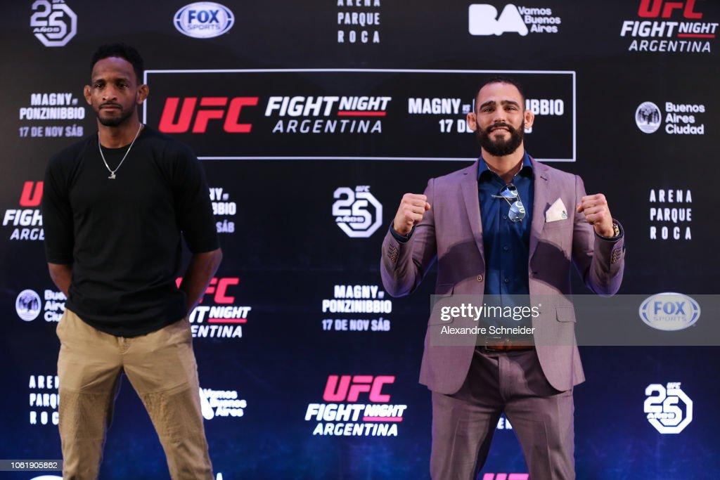 UFC Fight Night Magny v Ponzinibbio: Ultimate Media Day : News Photo
