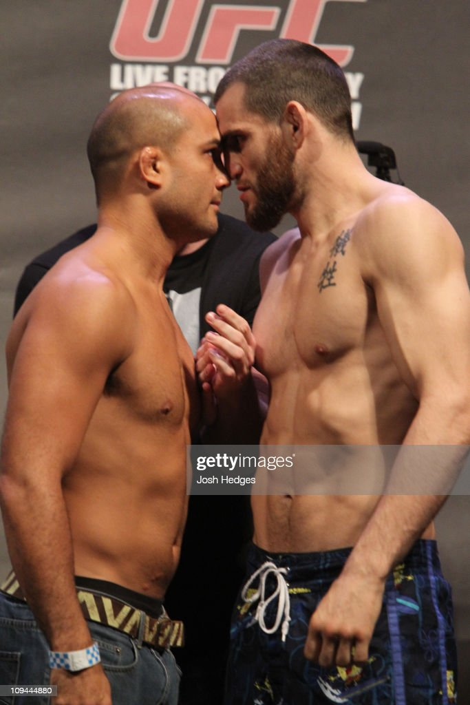UFC 127:  Weigh-in