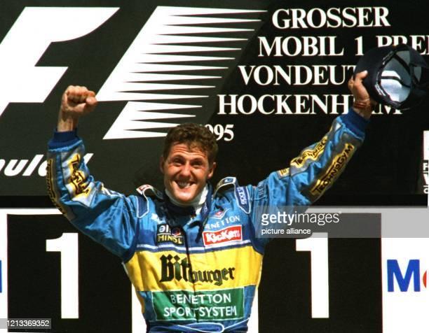Weltmeister Michael Schumacher gewann am 30.07.95 als erster deutscher Formel-1-Pilot einen Grand Prix auf deutschem Boden. Der 26jährige Kerpener...