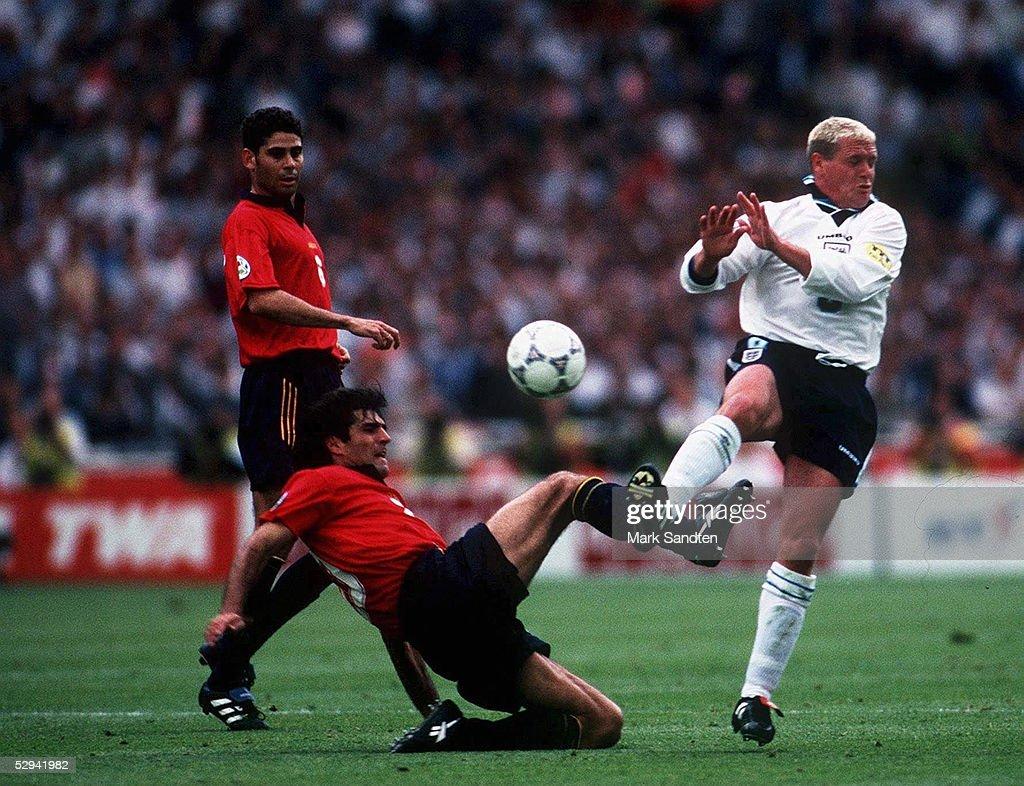 FUSSBALL: EURO 1996 ESP : News Photo