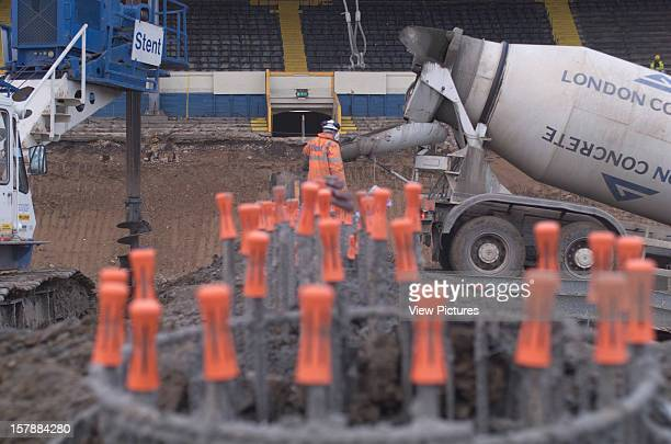 Wembley Stadium Demolition Wembley United Kingdom Architect John Simpson / Maxwell Ayrton / Owen Williams Wembley Stadium Demolition Men At Work