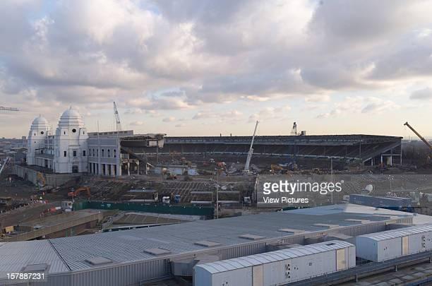 Wembley Stadium Demolition Wembley United Kingdom Architect John Simpson / Maxwell Ayrton / Owen Williams Wembley Stadium Demolition Towers With...