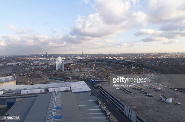 Wembley Stadium Demolition Wembley United Kingdom Architect John Simpson / Maxwell Ayrton / Owen Williams Wembley Stadium Demolition Aerial Shot...