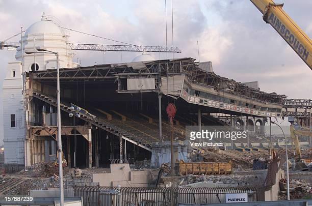 Wembley Stadium Demolition Wembley United Kingdom Architect John Simpson / Maxwell Ayrton / Owen Williams Wembley Stadium Demolition Demolition Of...