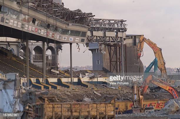 Wembley Stadium Demolition Wembley United Kingdom Architect John Simpson / Maxwell Ayrton / Owen Williams Wembley Stadium Demolition Demolition Work