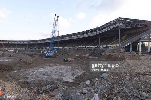 Wembley Stadium Demolition Wembley United Kingdom Architect John Simpson / Maxwell Ayrton / Owen Williams Wembley Stadium Demolition From Pitch To...