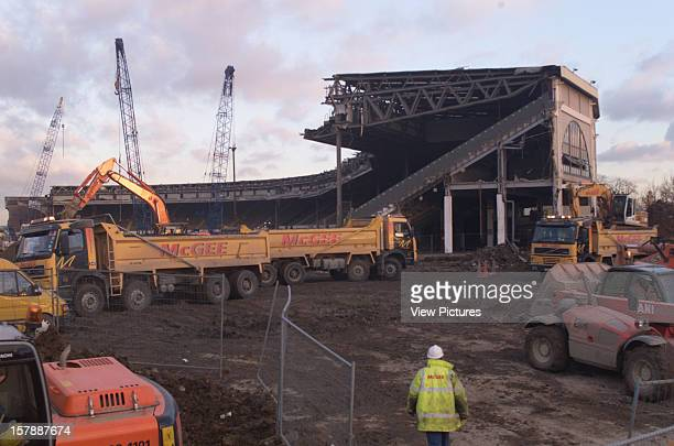 Wembley Stadium Demolition Wembley United Kingdom Architect John Simpson / Maxwell Ayrton / Owen Williams Wembley Stadium Demolition On Site