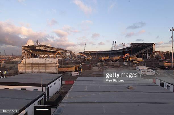 Wembley Stadium Demolition Wembley United Kingdom Architect John Simpson / Maxwell Ayrton / Owen Williams Wembley Stadium Demolition On The Pitch