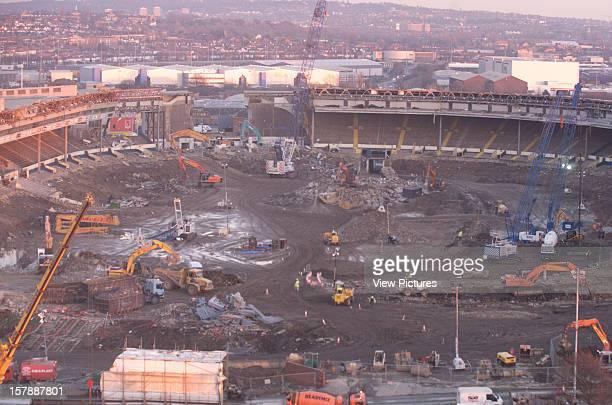 Wembley Stadium Demolition Wembley United Kingdom Architect John Simpson / Maxwell Ayrton / Owen Williams Wembley Stadium Demolition Aerial View Of...