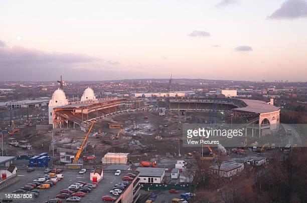 Wembley Stadium Demolition Wembley United Kingdom Architect John Simpson / Maxwell Ayrton / Owen Williams Wembley Stadium Demolition Aerial View