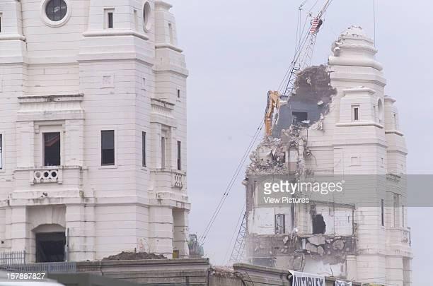 Wembley Stadium Demolition Wembley United Kingdom Architect John Simpson / Maxwell Ayrton / Owen Williams Wembley Stadium Demolition Close Up