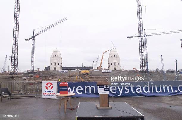 Wembley Stadium Demolition Wembley United Kingdom Architect John Simpson / Maxwell Ayrton / Owen Williams Wembley Stadium Distant View