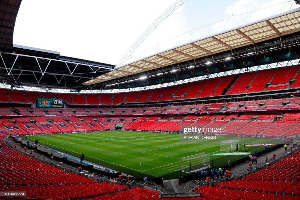 FBL-EURO-2020-LONDON-WEMBLEY : News Photo