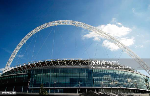 Wembley Stadium was designed by architects HOK Sport and Foster and Partners with Engineers Mott Macdonald and was built by Multiplex. The signature...