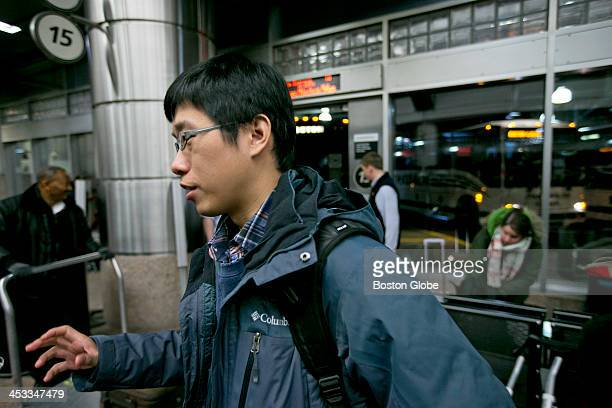 Wen Dong Tang a graduate student in engineering management at Dartmouth College in Hanover NH arrived at South Station Tang would stay two nights in...
