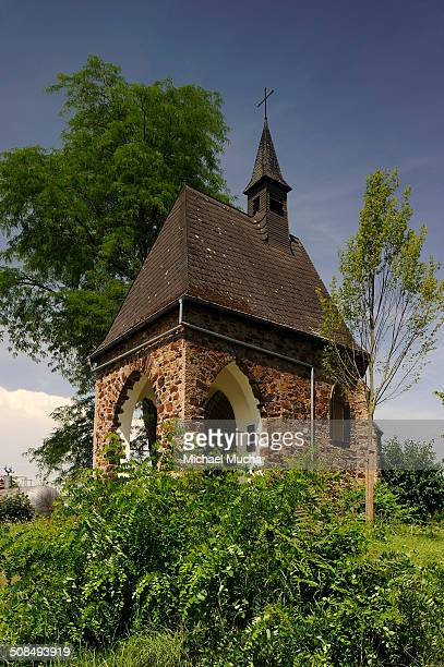 wenceslas chapel, lahnstein, rhineland-palatinate, germany - michael mucha stock-fotos und bilder